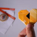 Valentinstag DIY: Ein Origami Herz aus deinem Ticket